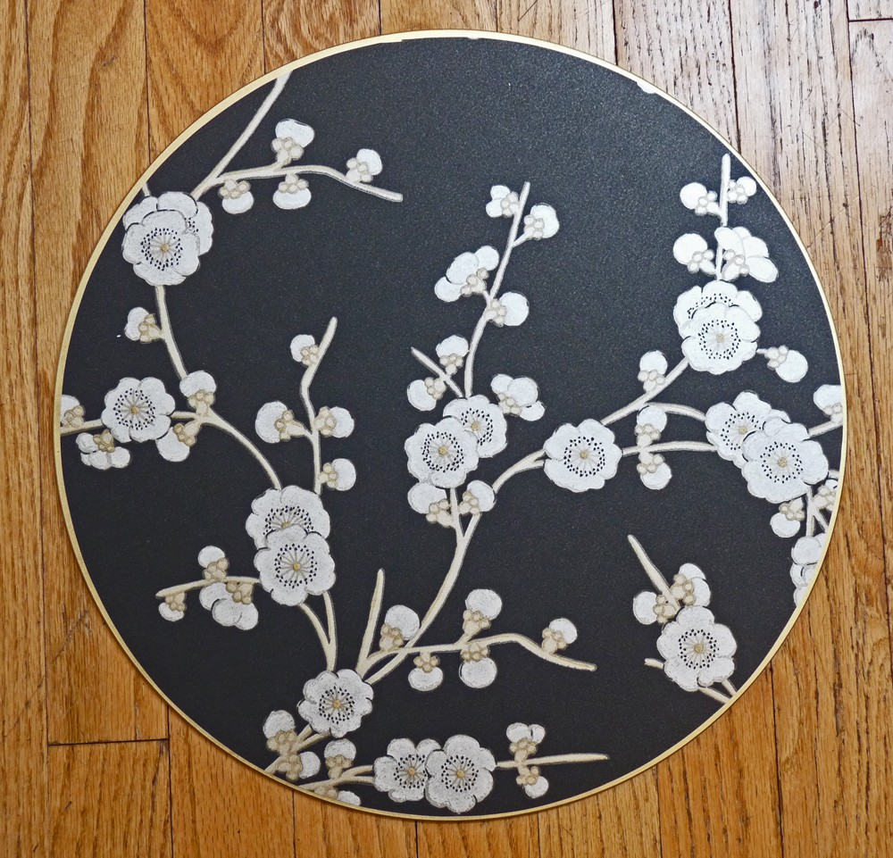 Blossom in Black Placemat