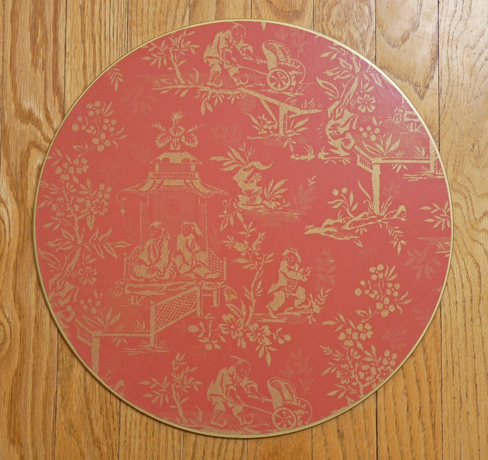 Red Ming Toile Placemat
