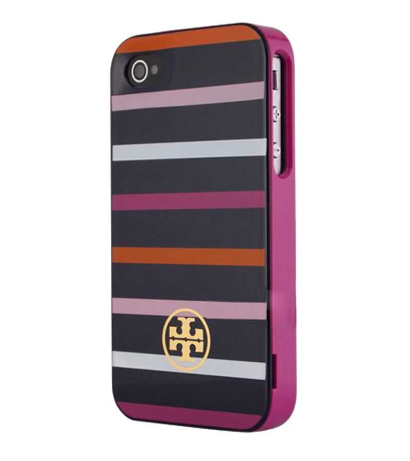 Navy Stripe Apple iPhone Cover