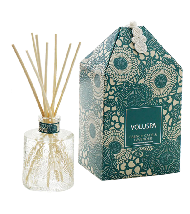 Mini French Cade & Lavender Reed Diffuser